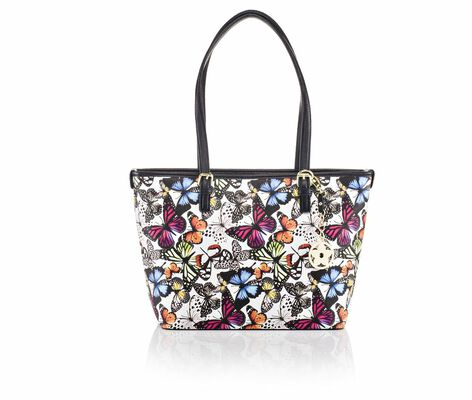 Bueno Of California Tote with Metal Fob