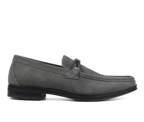 Men's Stacy Adams Neville Suede Moc Slip-On Dress Shoes