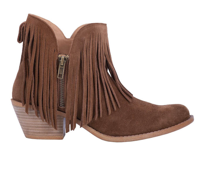 Women's Dingo Boot Jerico Fringe Booties