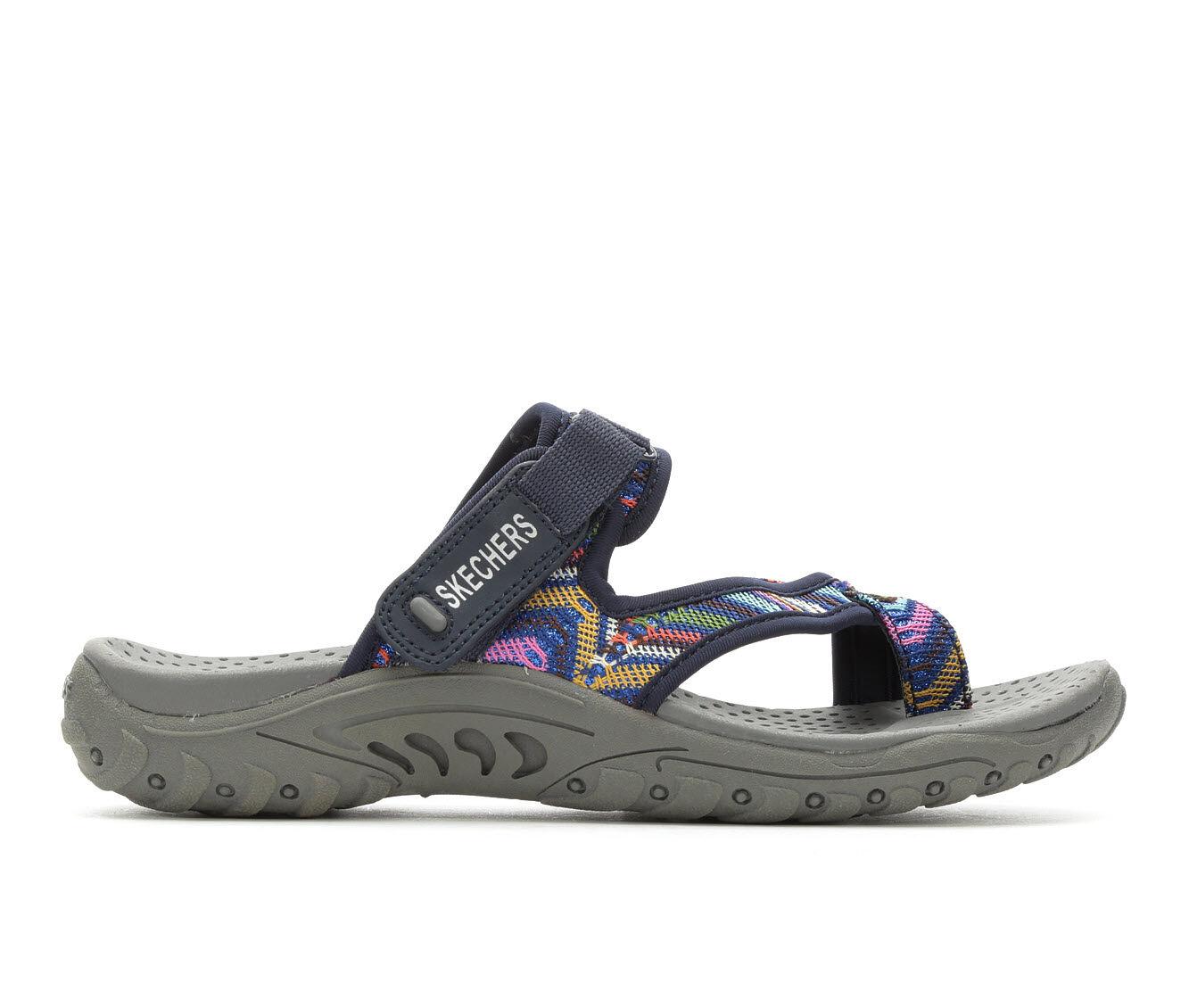 Women's Skechers Reggae 40974 Sandals Navy