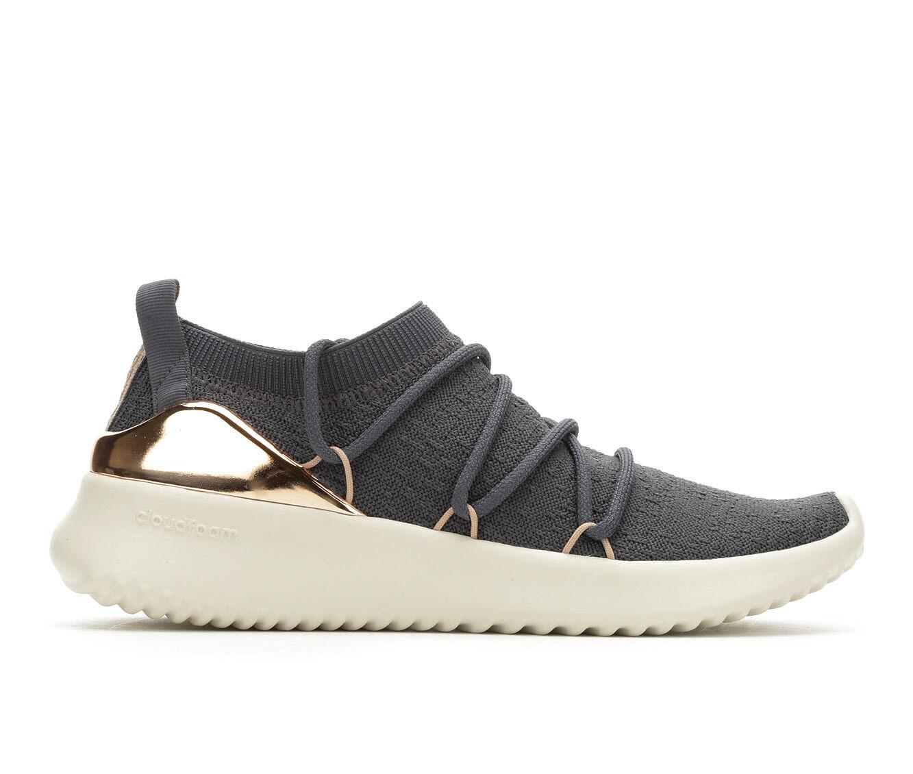 Women's Adidas Ultimamotion Slip-On Sneakers Gry/Met/Nude