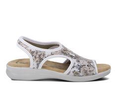 Women's Flexus Nyaman-Rose Wedge Sandals
