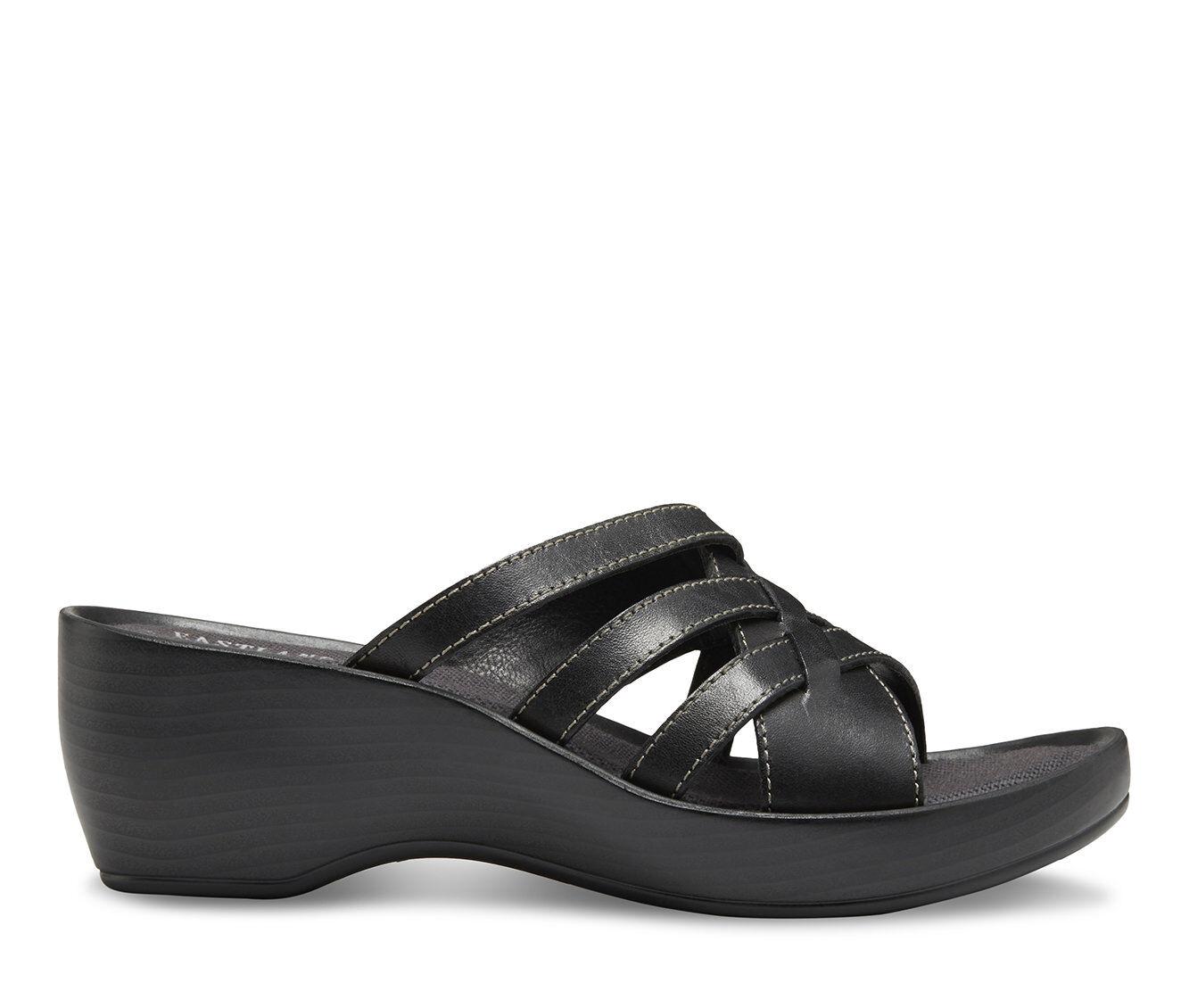 buy authentic Women's Eastland Poppy Sandals Black