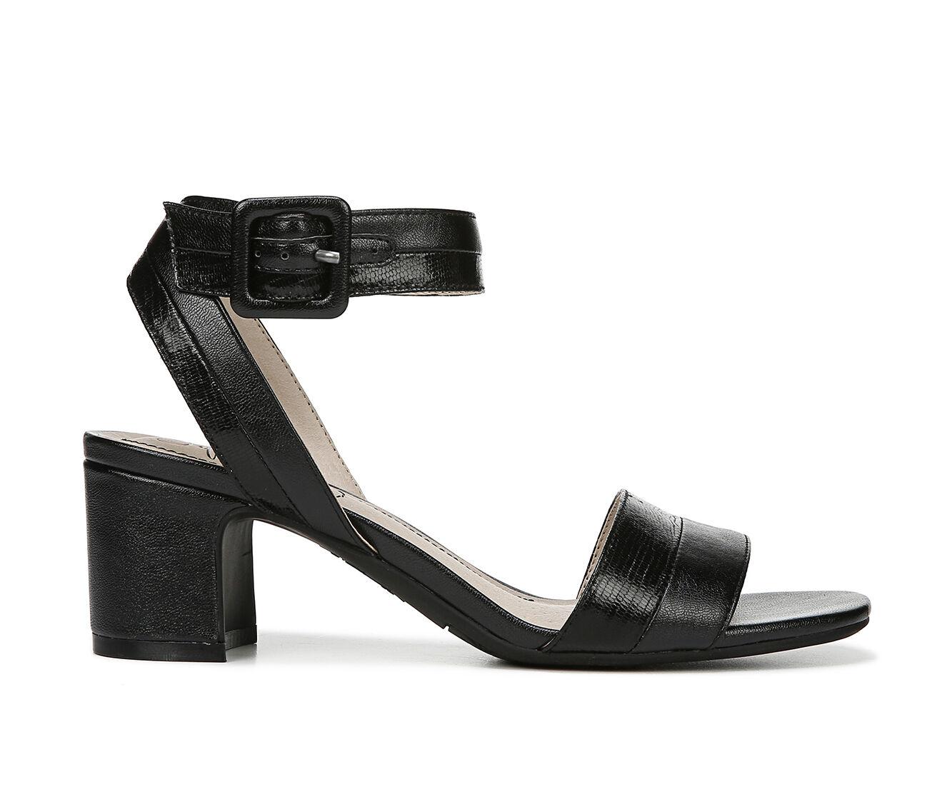 Leisure Styles Women's LifeStride Carnival Dress Sandals Black