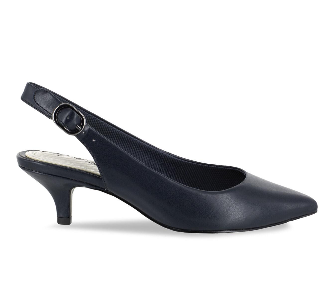 Women's Easy Street Faye Shoes Navy