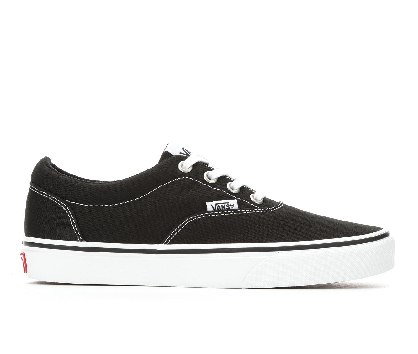 Extremely Cool Women's Vans Doheny Skate Shoes Black/White