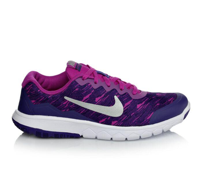 Girls' Nike Flex Experience 4 Print 3.5-7 Running Shoes