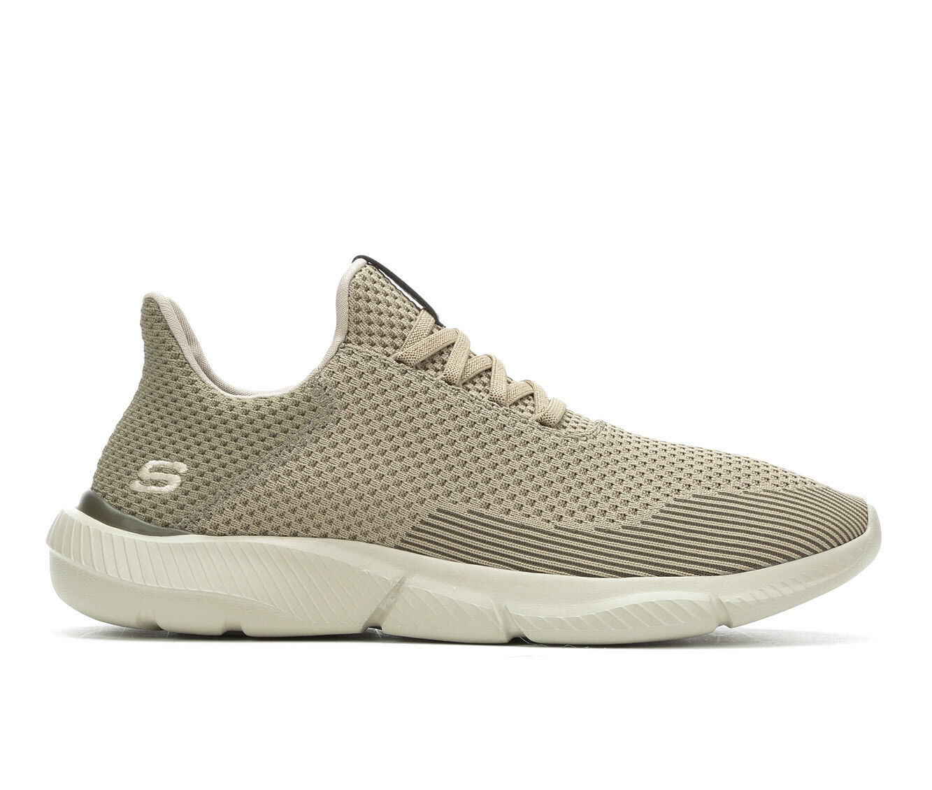 Men's Skechers Taison 65867 Casual Shoes Dark Taupe