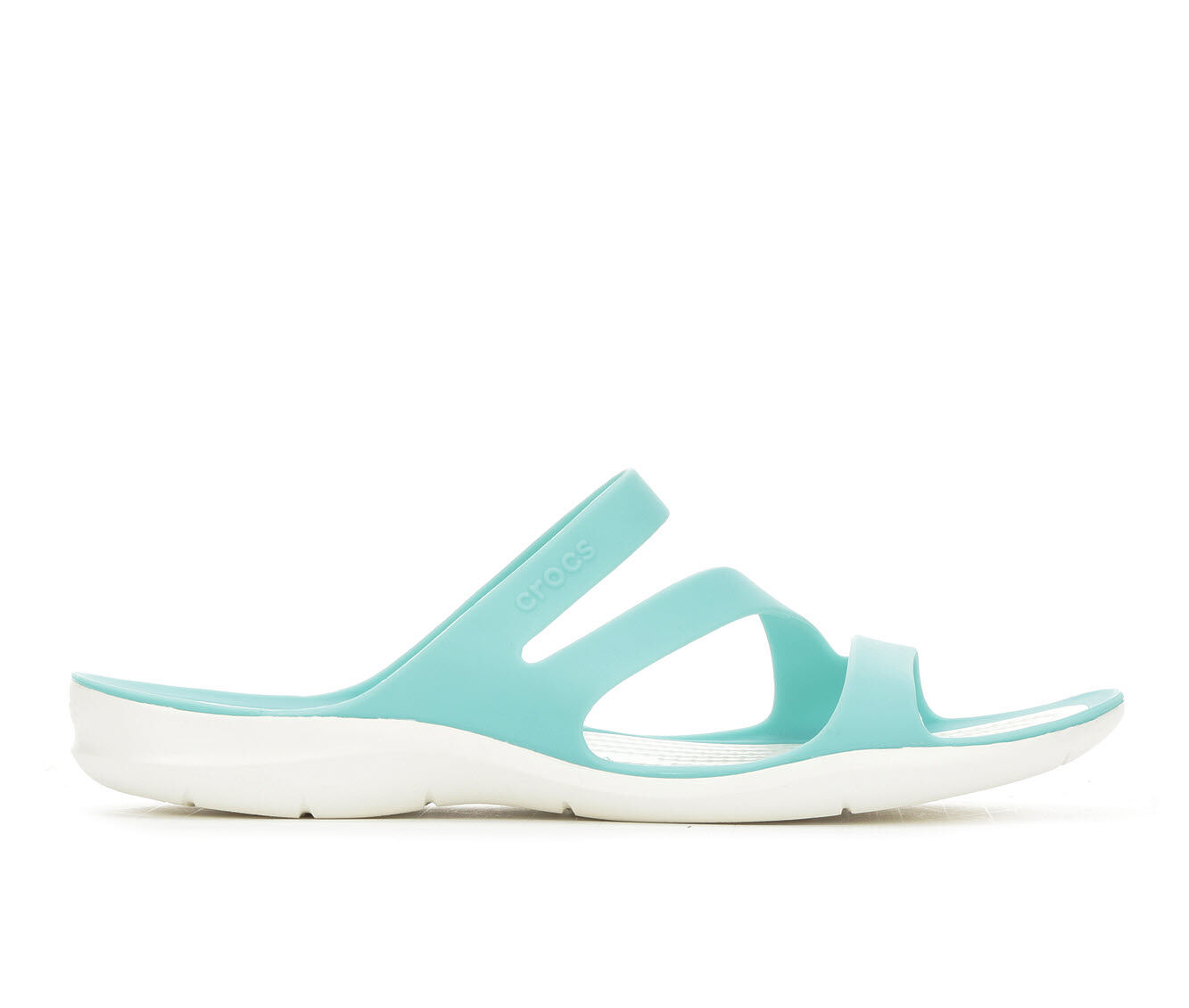 Special Deals Women's Crocs Swiftwater Strappy Sandals Pool/White