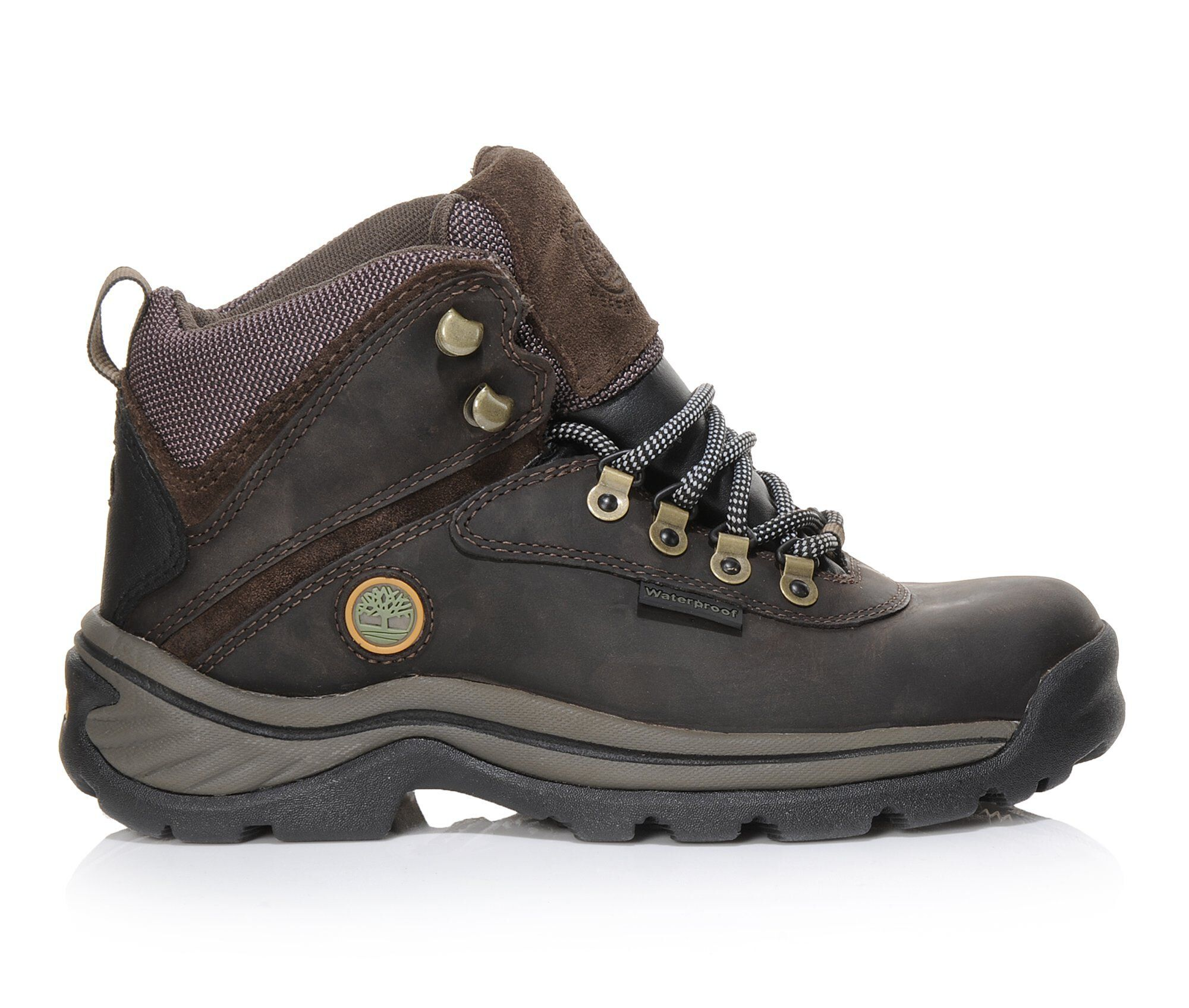 Women's Timberland White Ledge Waterproof Hiking Boots Brown