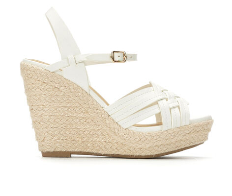 Women's Y-Not Riley Espadrille Platform Wedge Sandals