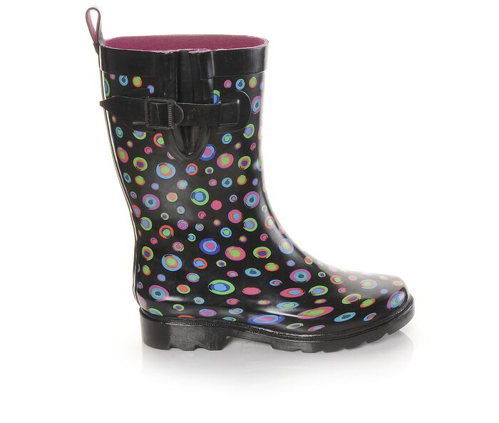 Women's Capelli New York Painted Marble Mid Shaft Rain Boots