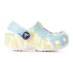 Kids' Crocs Infant Classic Tie Dye 2 Clogs