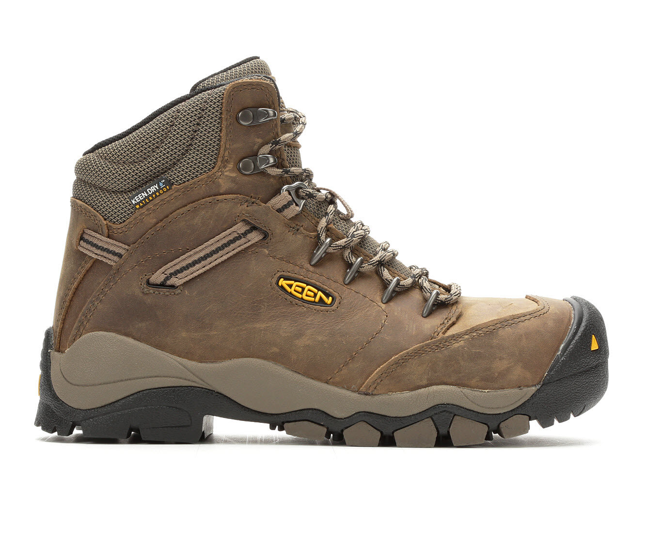 Women's KEEN Utility Utility Canby Composite Toe Waterproof Work Boots Shitake/Brindle