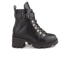 Women's Sugar Frannie Combat Boots