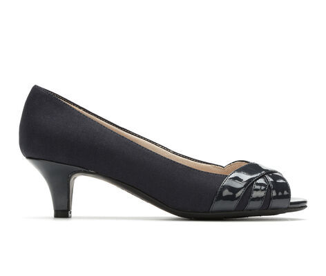 Women's LifeStride Lottie Peep Toe Kitten Heel