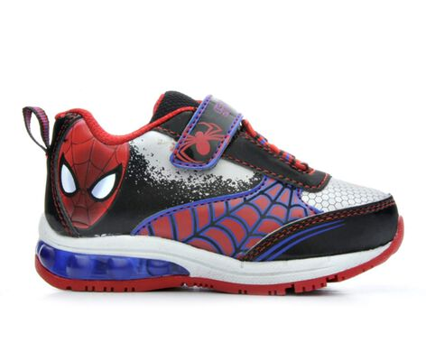 Boys' Marvel Spiderman Webs 2 7-12 Light-Up Shoes