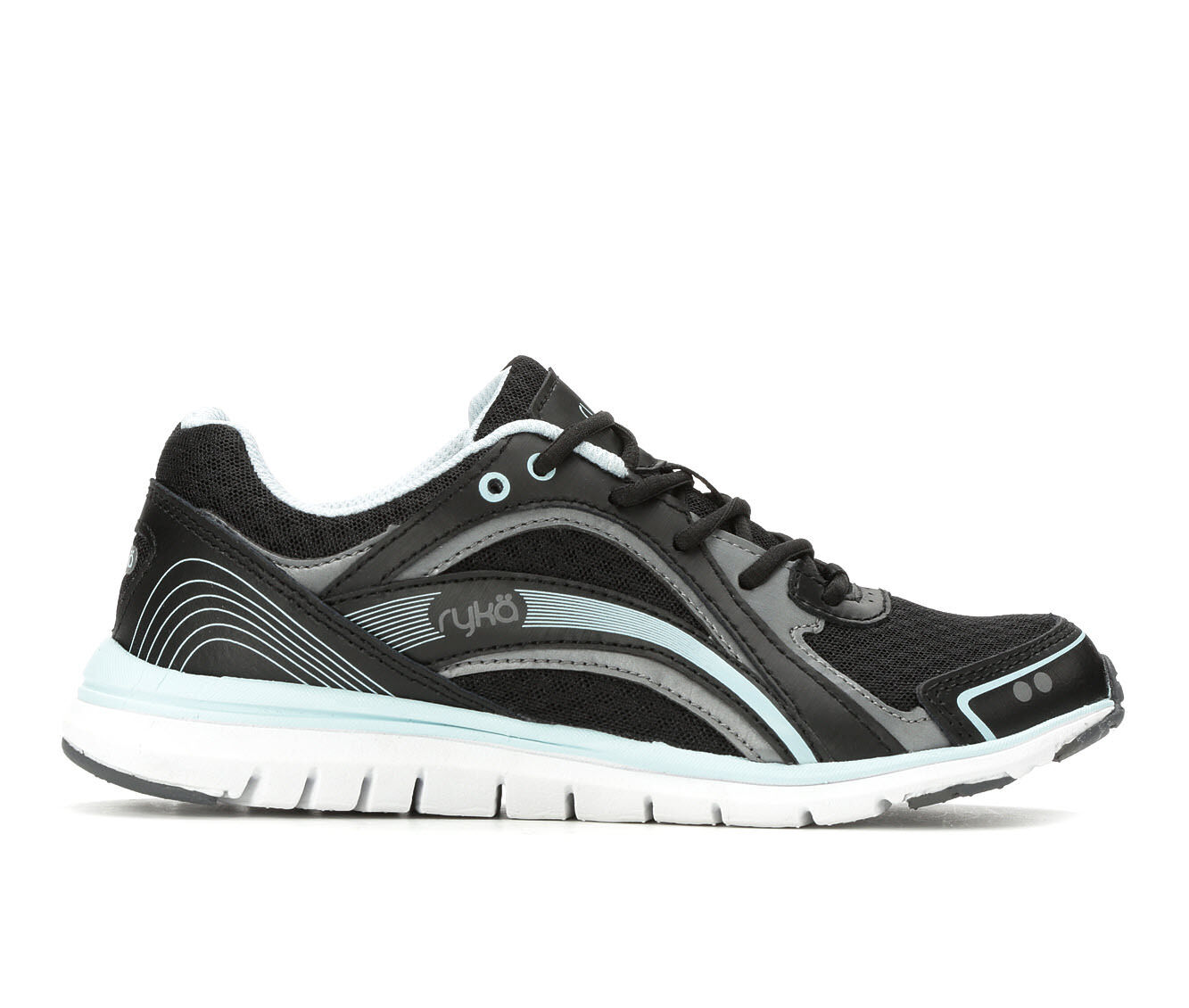 Women's Ryka Aries Training Shoes Black/Blue/Wht