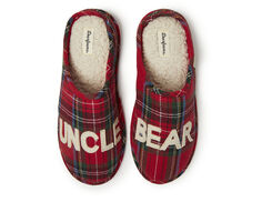 Dearfoams Uncle Bear Plaid Clog