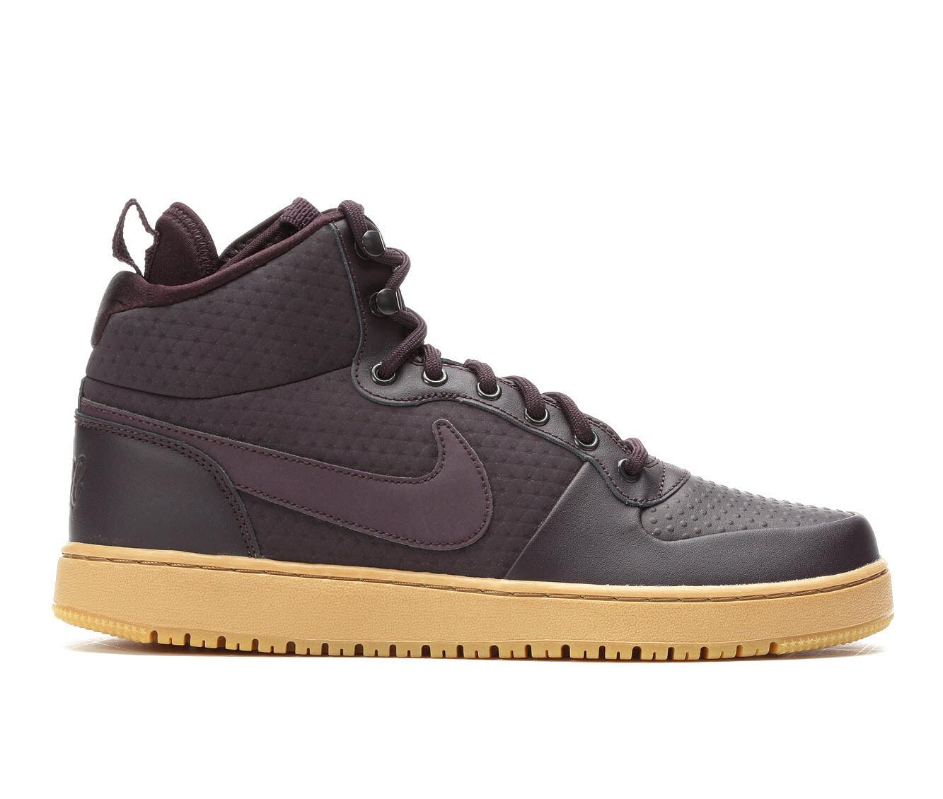 Men's Nike Ebernon Mid SE Sneakers Burg/Gum