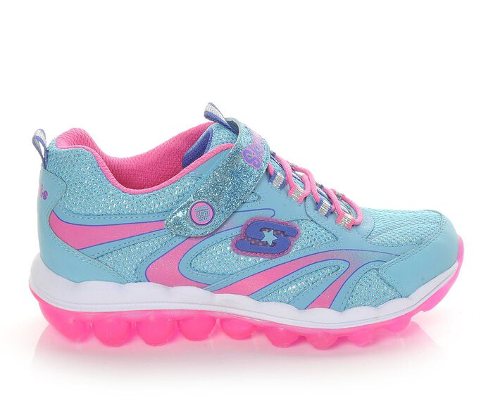 Girls' Skechers S Lights-Skech Air GO 10.5-3 Light-Up Shoes