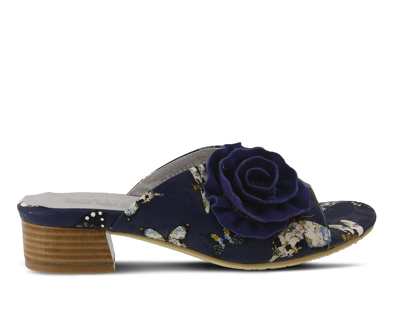 Women's L'ARTISTE Isittora Sandals Navy Multi
