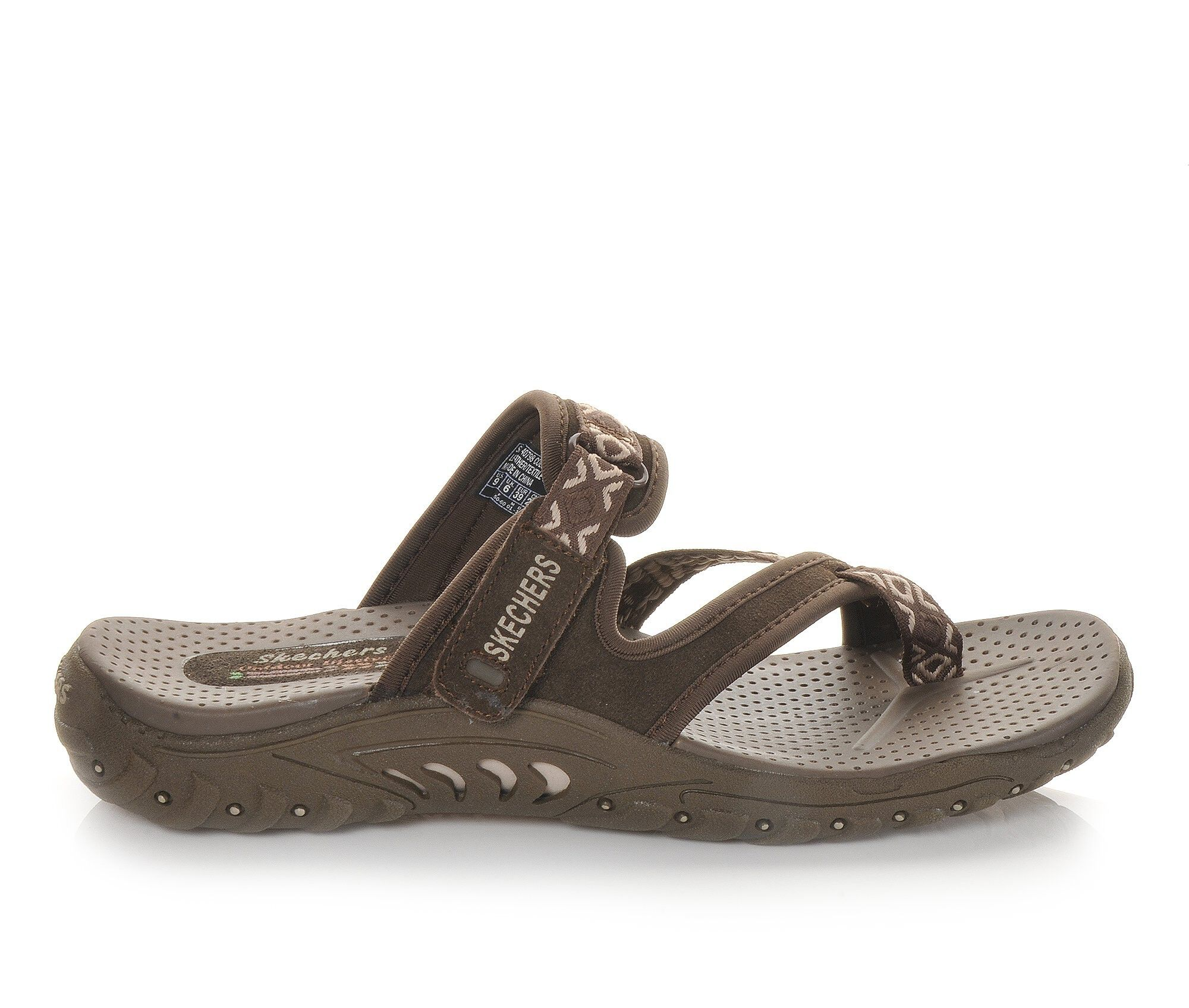 buy authentic new arrivals Women's Skechers Trailway 40798 Hiking Sandals Chocolate