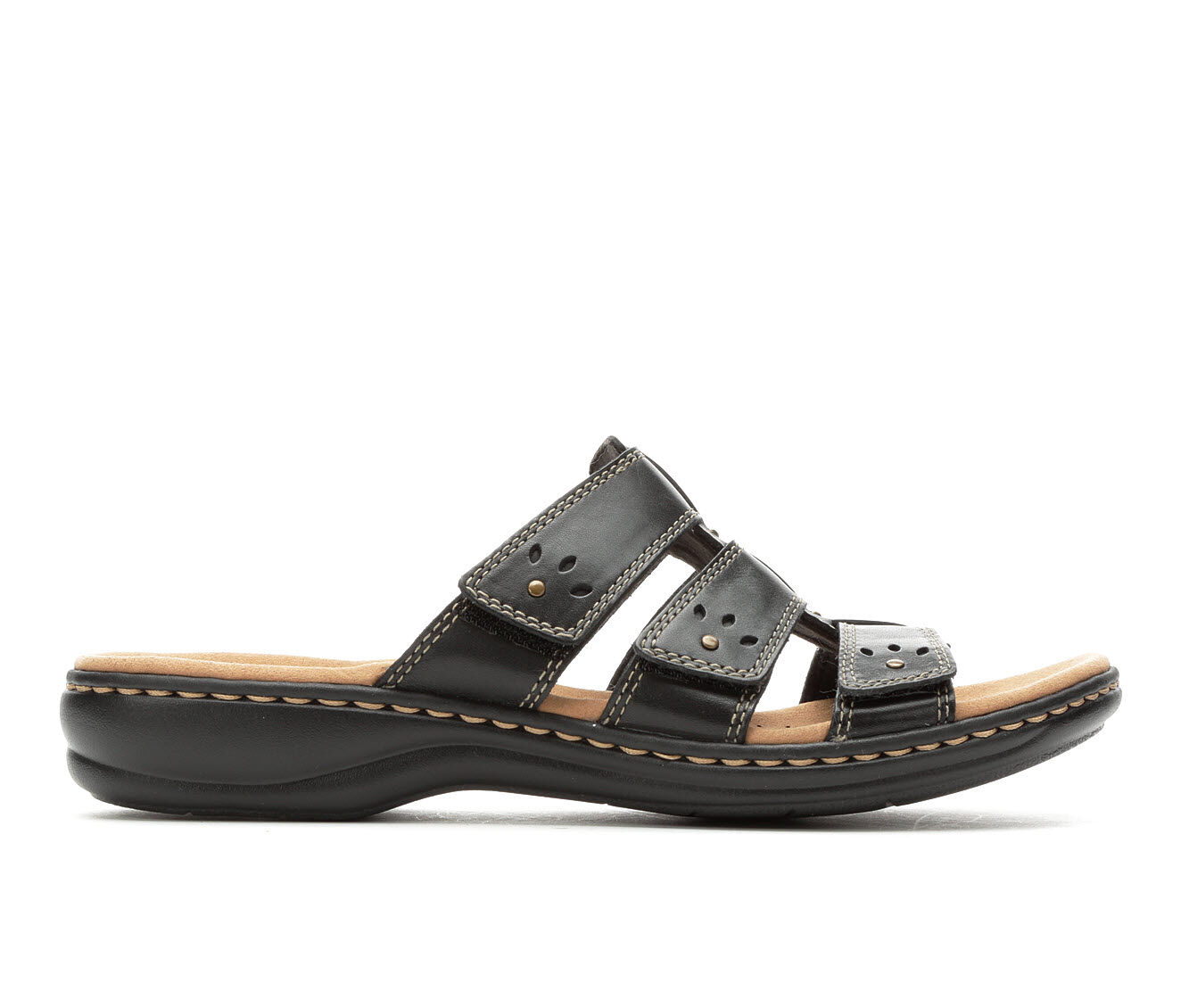 Women's Clarks Leisa Spring Sandals Black