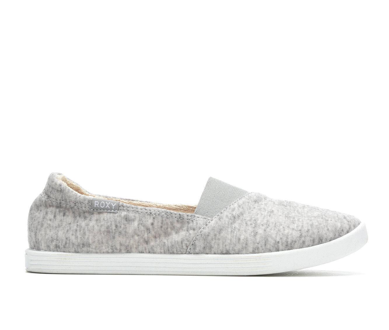 Women's Roxy Danaris Sneakers Grey Jersey