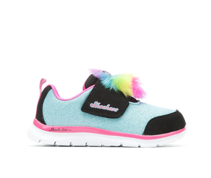 Girls' Skechers Infant Skech-Lite Furry- Lil Creature Athletic Shoes