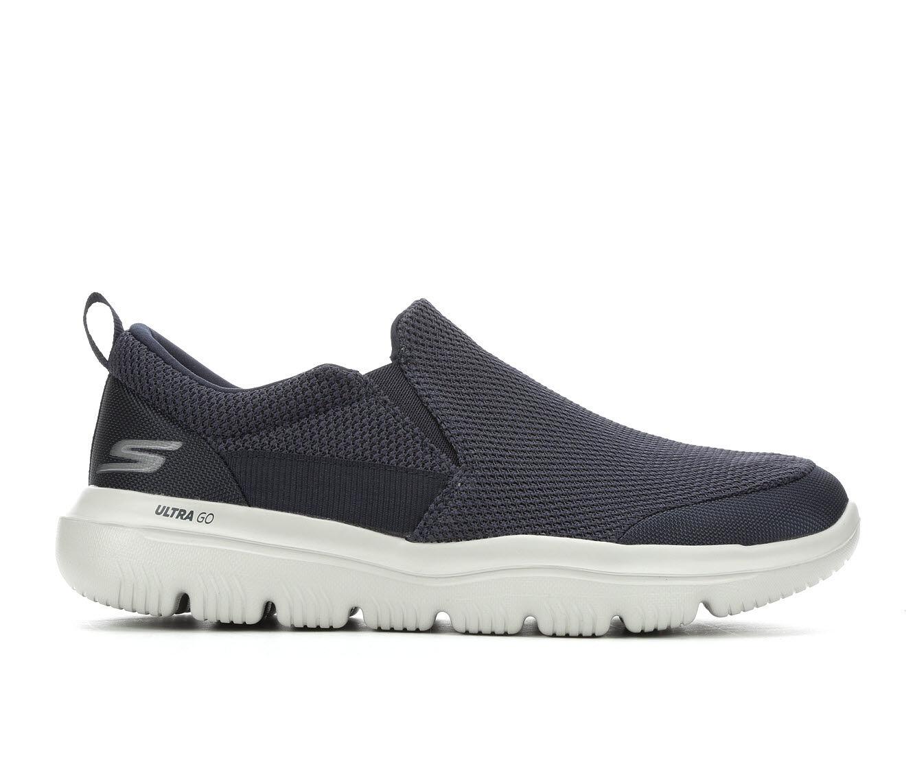 For Sale Men's Skechers Go Evolution Ultra Casual Shoes Navy/Grey