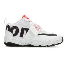 Boys' Nike Team Hustle D8 JDI 10.5-3 High Top Basketball Shoes