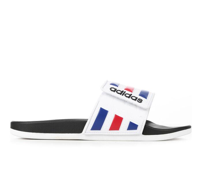 Men's Adidas Adilette Cloudfoam Adjust Sport Slides