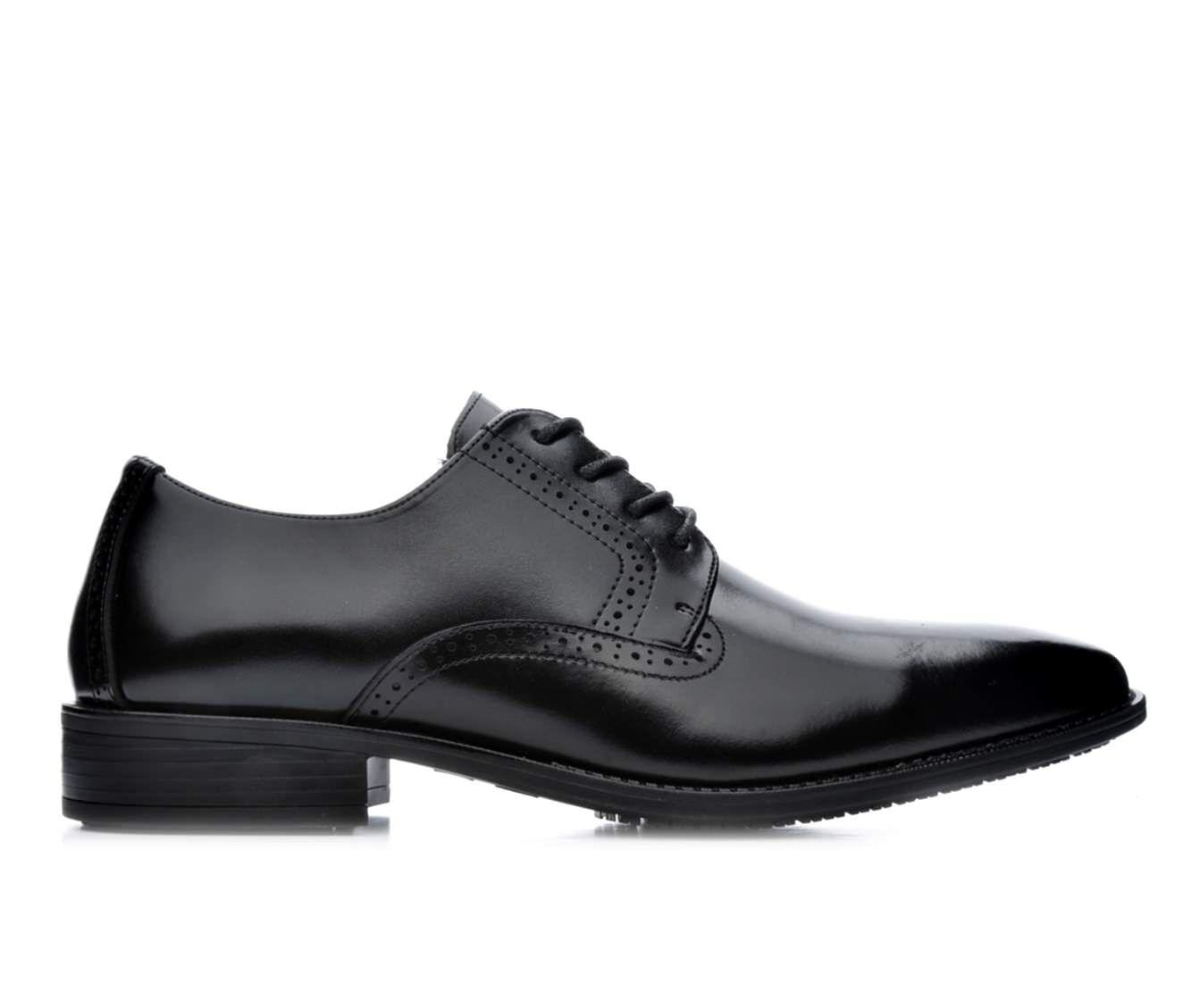 Men's Stacy Adams Ardell Slip-Resistant Oxfords Black