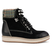 Women's White Mountain Theo Lace-Up Booties