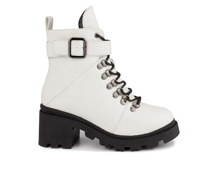 Women's Sugar Frannie Combat Boots