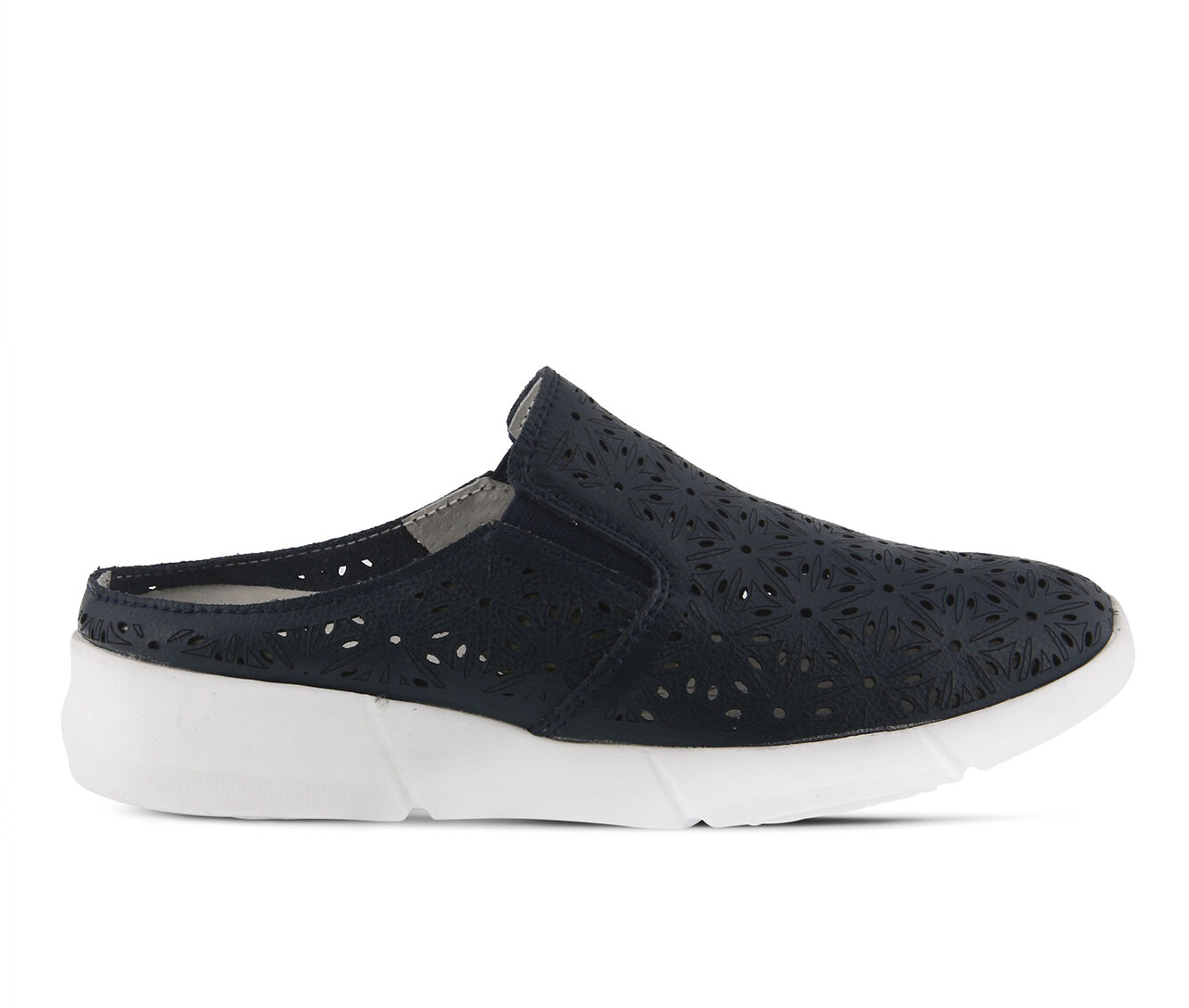 Authentic Guarantee Women's SPRING STEP Softsidele Navy