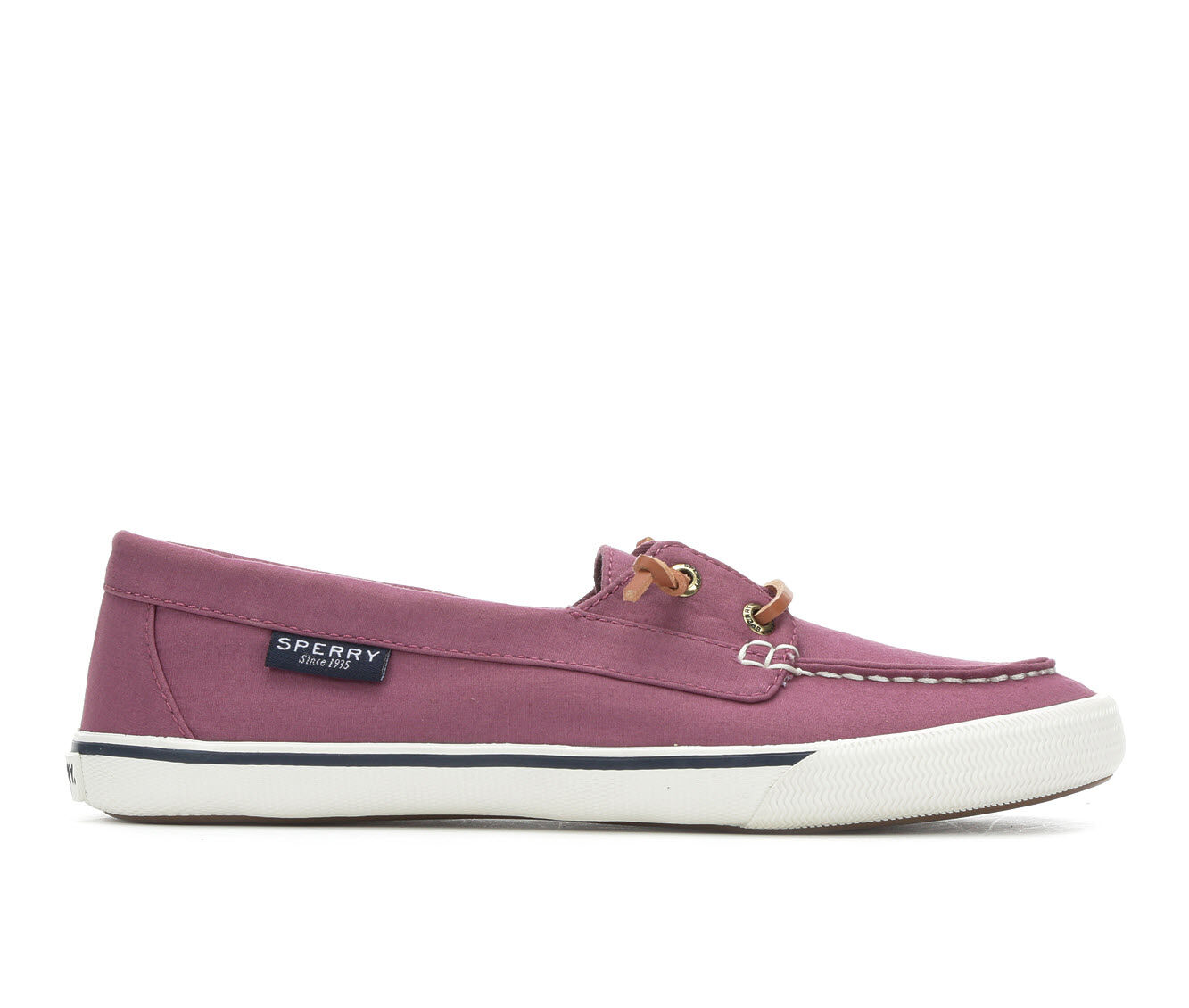 buy top quality Women's Sperry Lounge Away Poplin Sneakers Berry