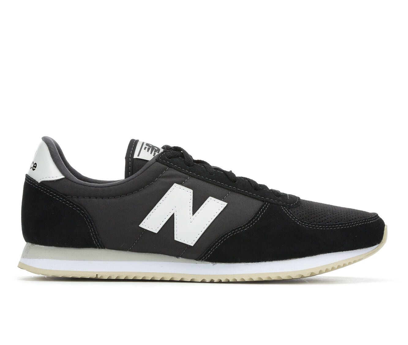 cheapest new Women's New Balance WL220V1 Retro Sneakers Blk/Grey/Cream