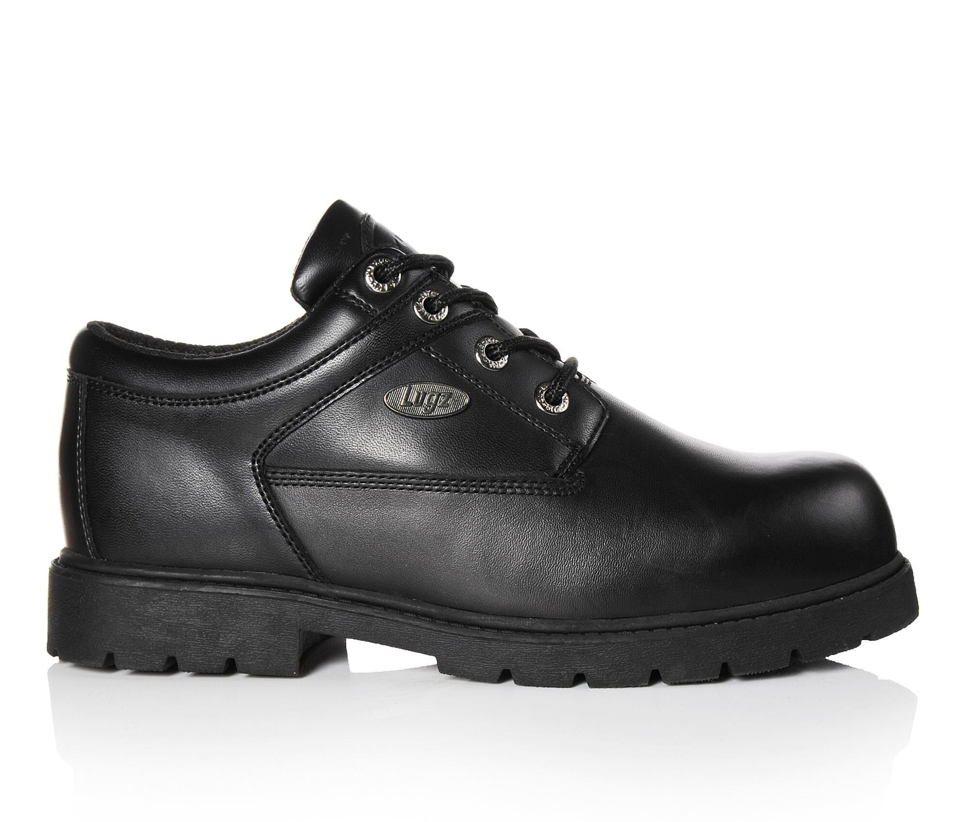 Men's Lugz Savoy Slip Resistant Safety Shoes Black