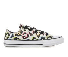 Girls' Converse Little Kid & Big Kid Chuck Taylor All Star Leopard Print Ox Sneakers