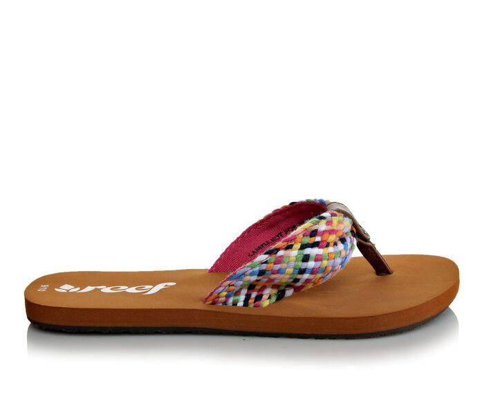 Girls' Reef Little Mallory Scrunch Flip-Flops