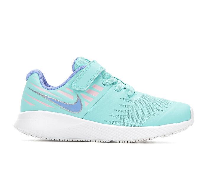 Girls' Nike Little Kid Star Runner Velcro Running Shoes