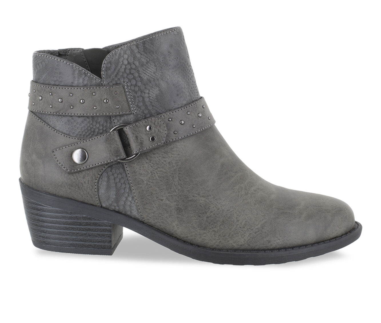 Women's Easy Street Leda Booties Grey