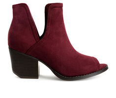 Women's Journee Collection Jordyn Peep Toe Booties