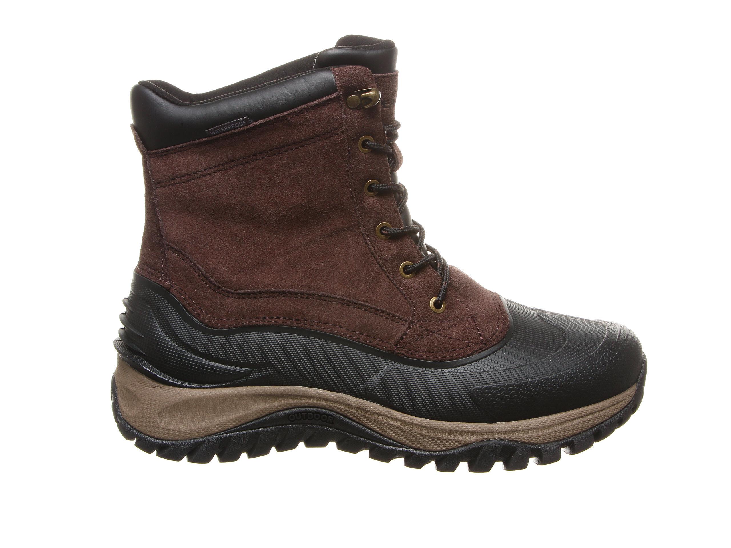 Men's Bearpaw Teton Winter Boots Chocolate