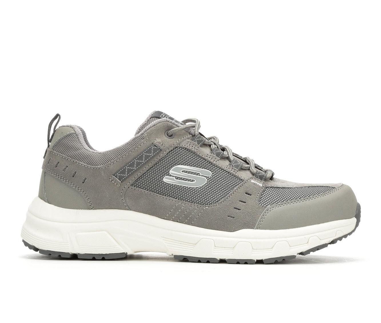 Men's Skechers Oak Canyon 51893 Athletic Shoes Grey/White