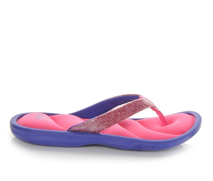 Girls' Adidas Chilwyanda Fitfoam Flip-Flops
