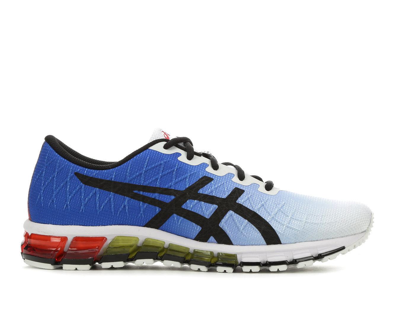 Men's ASICS Gel Quantum 180 4 - M Running Shoes Blu/Wht/Bk