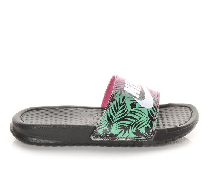Girls' Nike Benassi JDI Print Girls Sport Slides